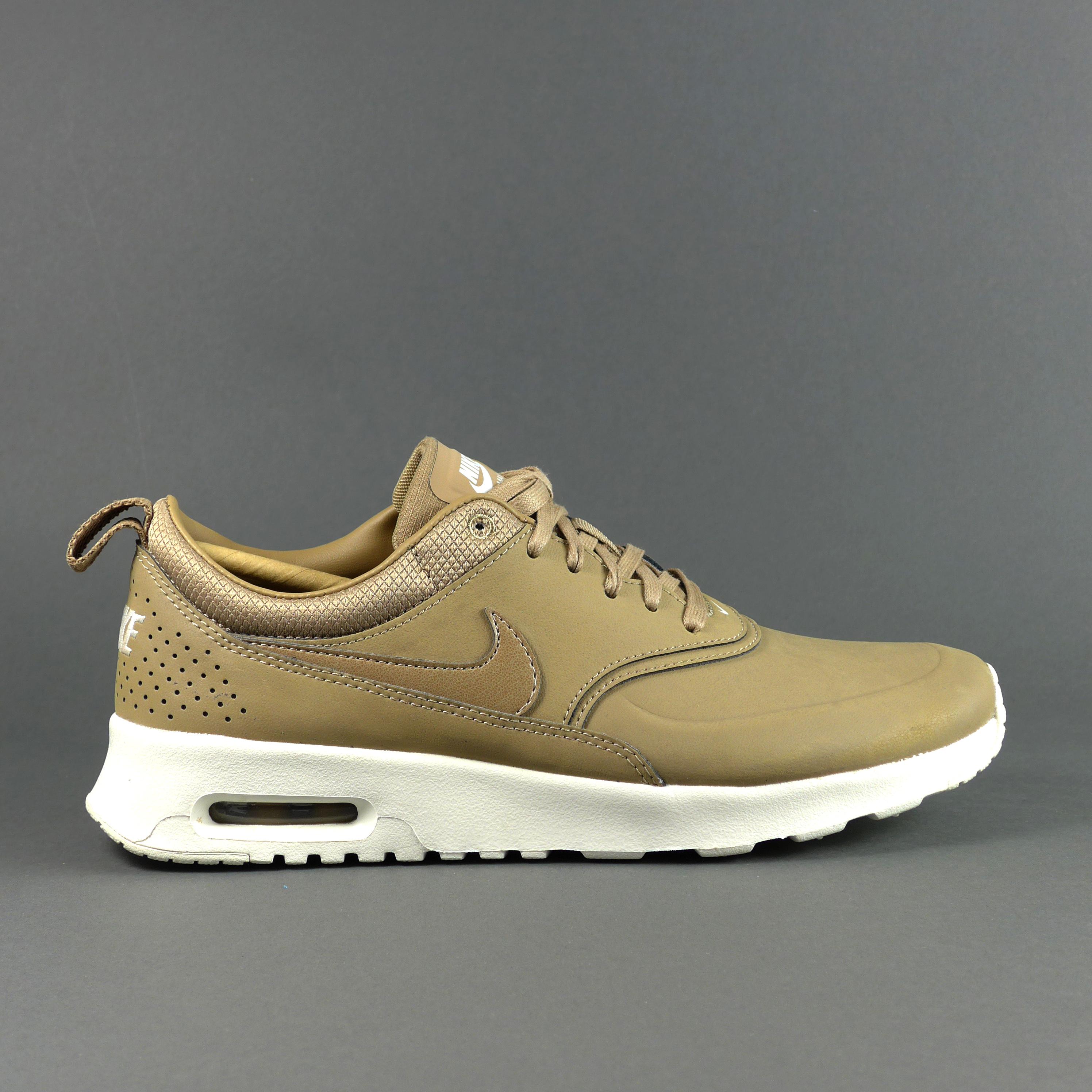 Nike Air Max Thea Beige Leder